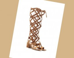 Gianvito rossi Sandały rzymskie brązowy