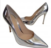 Gianvito Rossi silber pumps