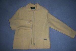 Giesswein Short Blazer sand brown wool