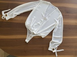 Gil Santucci Bodysuit Blouse white