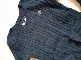 Gilly Hicks Warkoczowy sweter ciemnoniebieski