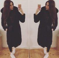 Gina Tricot Winterjacke schwarz Casual-Look