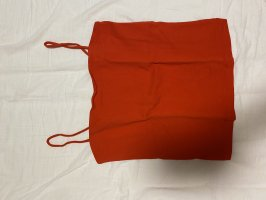 GinaTricot Cropped Top red