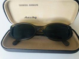 Giorgio  Armani Oval Sunglasses bronze-colored