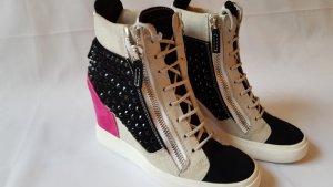 Giuseppe Zanotti Wedge Sneaker multicolored