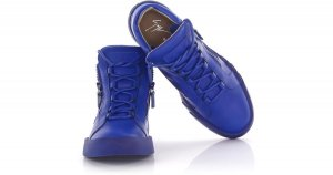 Giuseppe Zanotti High Top Sneaker blue