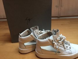 Giuseppe Zanotti High Top Sneaker white