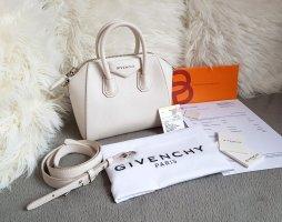 Givenchy Antigona Mini Weiß Creme Silber