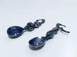 Givenchy Designer-Ohrringe mit dreifarbigen Steinen