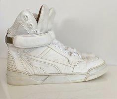 Givenchy High-Top Sneaker Gr. 39 creme /weiß Logo