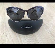 Givenchy Okulary motylki czarny-brązowo-fioletowy