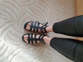 Bianco Sandalo romano nero