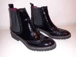 5th Avenue Slip-on laarzen zwart