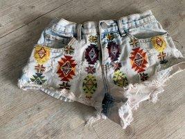 Glamorous Pantaloncino di jeans multicolore