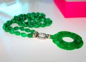 Collier verde