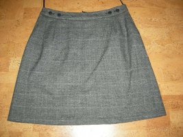 Wool Skirt dark grey-black