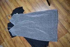 Glittery Slip Dress  NA-KD Party Silber 38