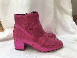 Glitzer- / Glitter-Boots Pink ASOS