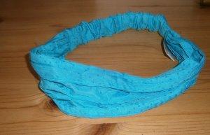 Bijou Brigitte Haarband turkoois-lichtblauw Polyester