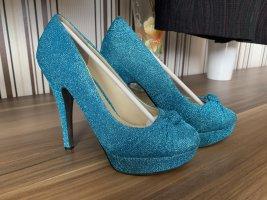 Belle Women High Heels light blue