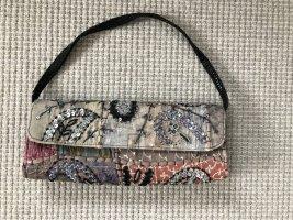 Glitzer-Pailletten-Perlen-Handtasche