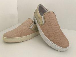 Stokton Pantofola crema-sabbia Pelle