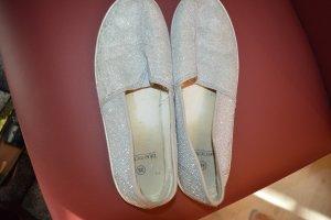 Glitzer Sneaker silber Gr. 38 Blue Motion