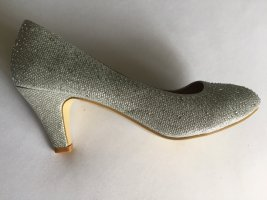 Glitzernde Pumps Gr 39 NEU
