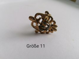 Glööckler, Ring, gold Ring, Statementring, Krone, Vintage, royal, antik