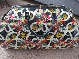 Glööckler Travel Bag black-gold-colored