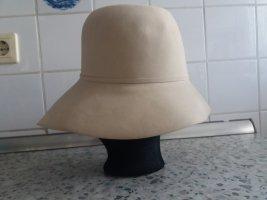 Cappello cloche bianco sporco