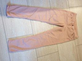 Glücksstern Pantalone a sigaretta rosa pallido