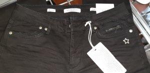 Glücksstern Tube Jeans black