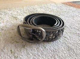 Faux Leather Belt multicolored imitation leather