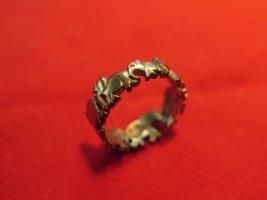 Gouden ring goud Oranje