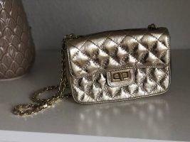 Gold Tasche