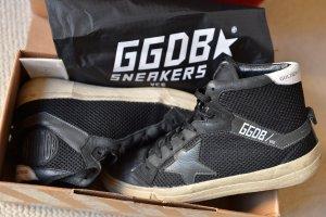 GOLDEN GOOSE 37 GGDB Basket 2.12 OVP Sneakers High Top Skater Schwarz Leder