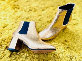 H&M Ankle Boots gold-colored