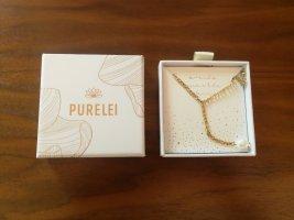 Purelei Necklace white-gold-colored