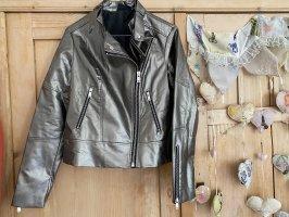 Esmara Faux Leather Jacket gold-colored