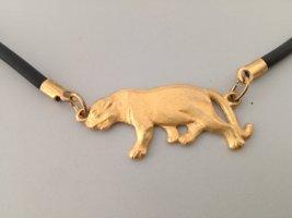 goldene Pantherkette vintage