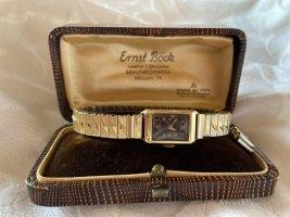 Goldene Uhr vintage