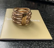 Michael Kors Gold Ring rose-gold-coloured-gold-colored