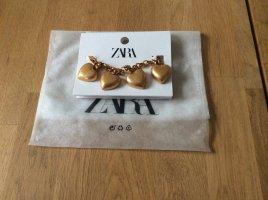 Zara Charm Bracelet gold-colored metal