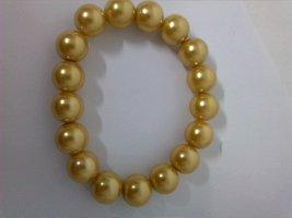 Goldenes Perlen Armband