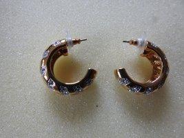 Pierre Lang Złote kolczyki złoto Metal