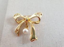 Boutique Ware Spilla beige chiaro-oro