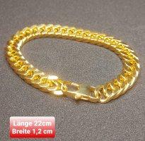 Goldfarbener Armband aus Stahl