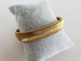 Goldfarbenes Armband Dehnbar Retro Edel Schmuck Armschmuck
