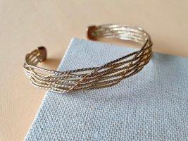 Goldfarbige Armspange Edel Armschmuck Armband
